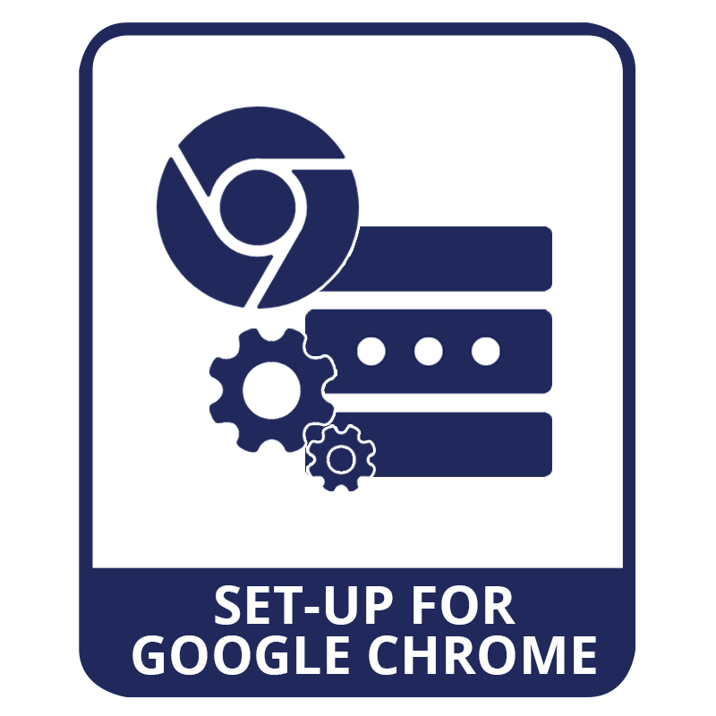 google chrome proxy setup