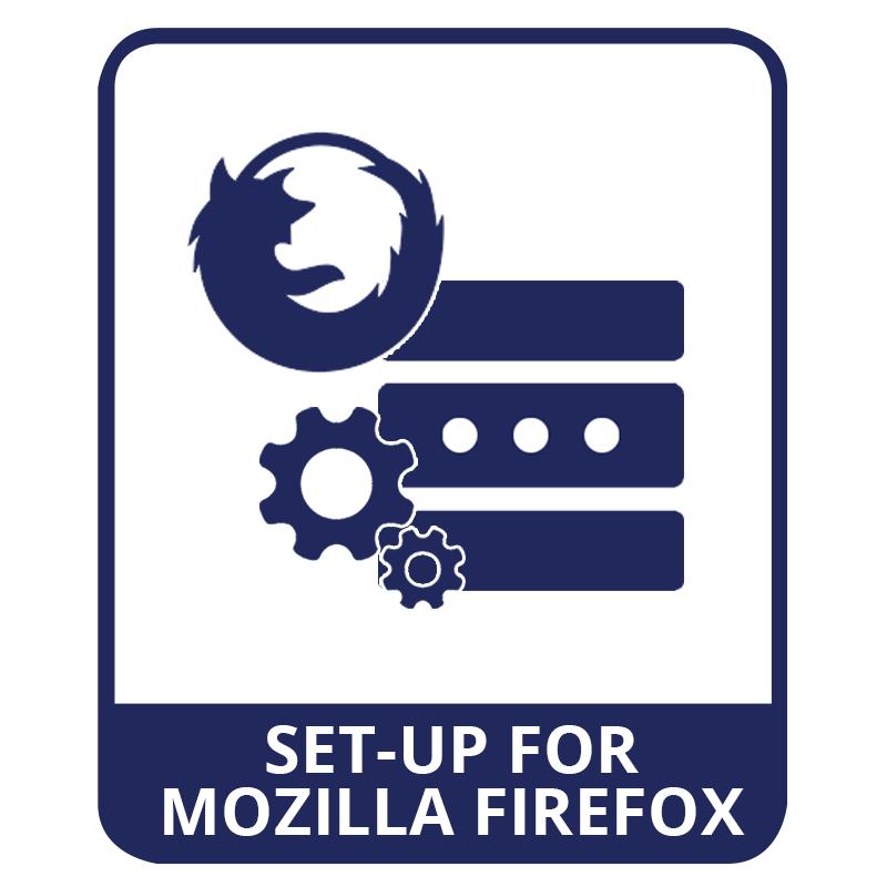 mozilla firefox proxy setup