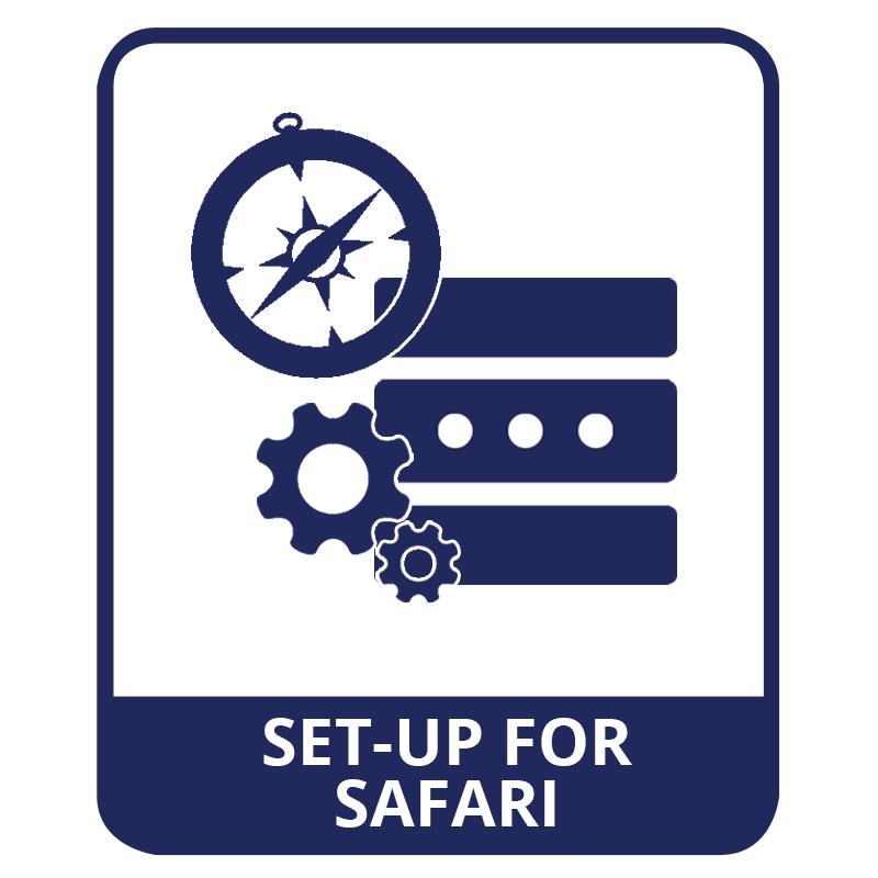 proxy setup in safari
