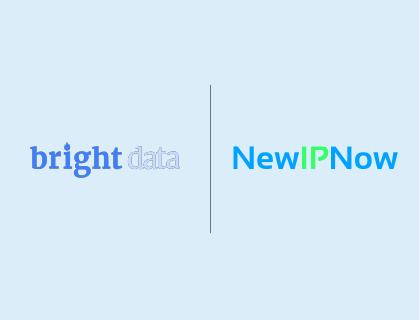 Proxy Article: Bright Data vs NewIPNow proxies